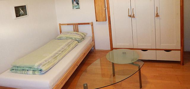 Ein- und Zweibettzimmer